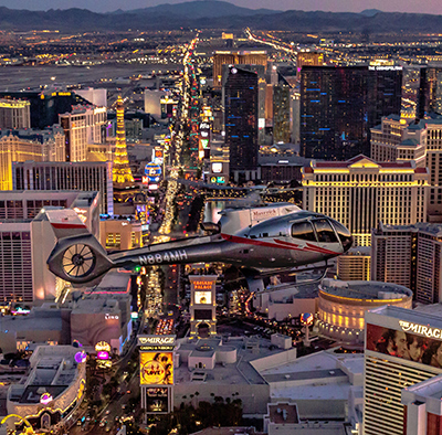 Night flight over Las Vegas for ONLY $99!