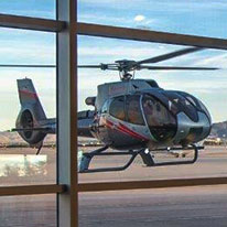 Check in for your air excursion with Maverick Helicopters.